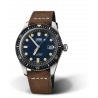 Oris Divers Sixty-Five Blue Dial & Leather strap