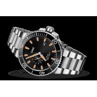 Oris Aquis Small Second & Date - steel bracelet