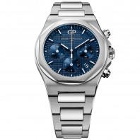 Girard Perregaux - Laureato Chronograph Blue & Bracelet 38 mm