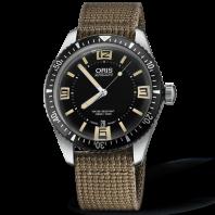 Oris Divers Sixty-Five Svart 40 mm