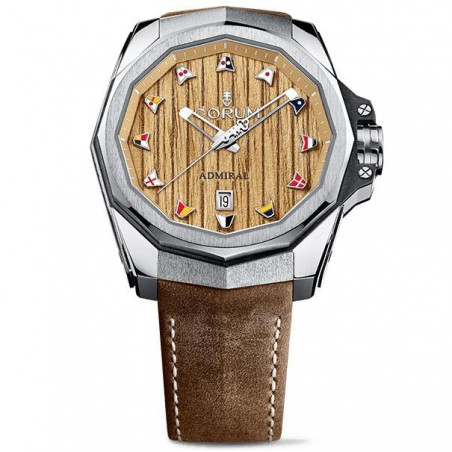 Corum Admiral Legend 45 mm with wooden dial A082/03209