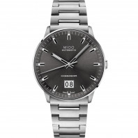 Mido Commander Big Date with grey dial & steel bracelet M0216261106100