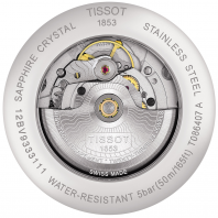 TISSOT - LUXURY POWERMATIC 80 Men's watch Silver & Steel T0864071103100