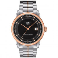 TISSOT - LUXURY POWERMATIC 80 Men's watch Silver & Steel T0864071103100