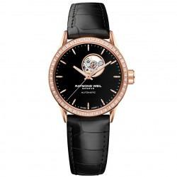 Raymond Weil - Freelancer Rose gold PVD & Diamonds