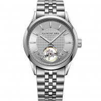 Raymond Weil - Freelancer Silver Open Heart Steel Gent's watch