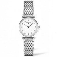 Longines La Grande Classique Mother-Of-Pearl Diamonds Steel women's watch