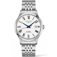 Longines - Record white dial with roman numeral Gent's Watch