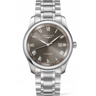 Longines - Master Automatic Sunray Grey Steel Braclet Gent's Watch