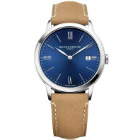 Baume & Mercier Classima Quartz Blue & Steel Mens Watch