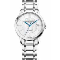 Baume & Mercier Classima Automatic Silver & Steel Mens Watch M0A10215