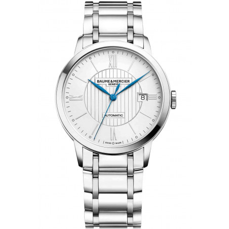 Baume & Mercier Classima Automatic Silver & Steel Mens Watch M0A10215