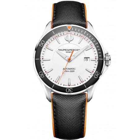 Baume & Mercier Clifton Club Automatic steel White Mens Watch