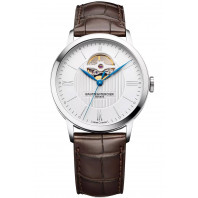Baume & Mercier Classima Automatic Silver Open Heart Mens Watch