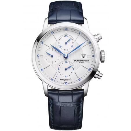 Baume & Mercier Classima Automatic Chronograph Mens Watch White