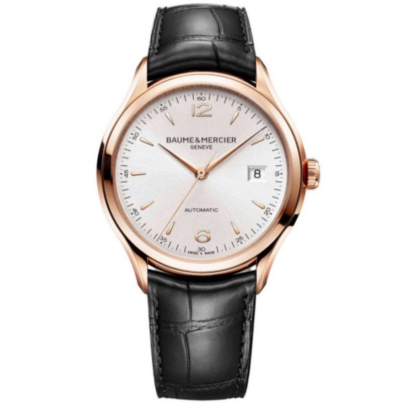 Baume & Mercier Clifton Automatic Gold Mens Watch M0A10058