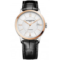 Baume & Mercier Classima Automatic Mens Watch Steel & Rose Gold, Alligator