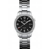 Sjöö Sandström Royal Steel Classic Men's Watch Black Steel 41mm 008713