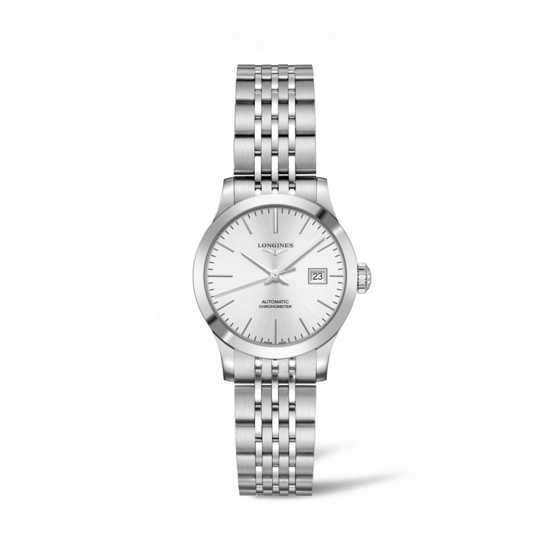 Longines -Record Ladywatch 30 mm Silver Dial