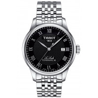 Tissot - Le Locle Powermatic 80 Svart Steel Gent's Watch