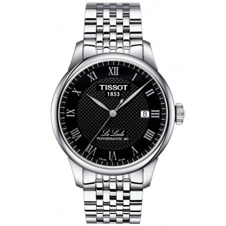Tissot - Le Locle Powermatic 80 Svart Steel Gent's Watch