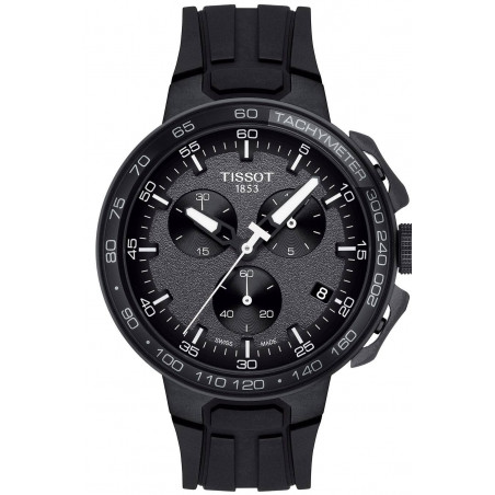 Tissot T-Race Cycling Svart Silicone Gent's watch