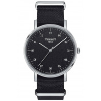 Tissot - Everytime Swissmatic Rhodium Black Steel Nato-strap Gent's Watch