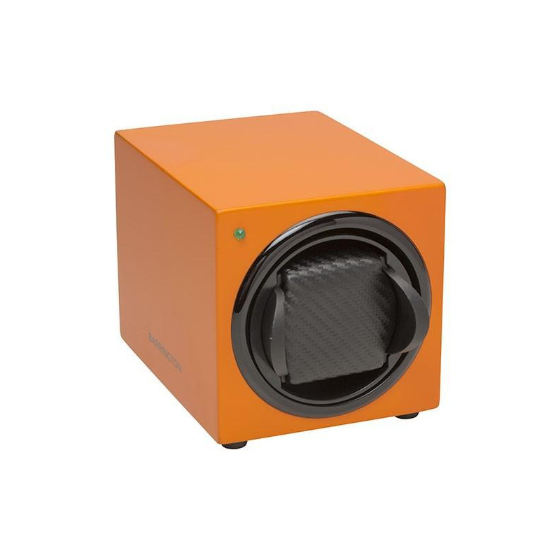 Barrington Single Watch Winder - Orange