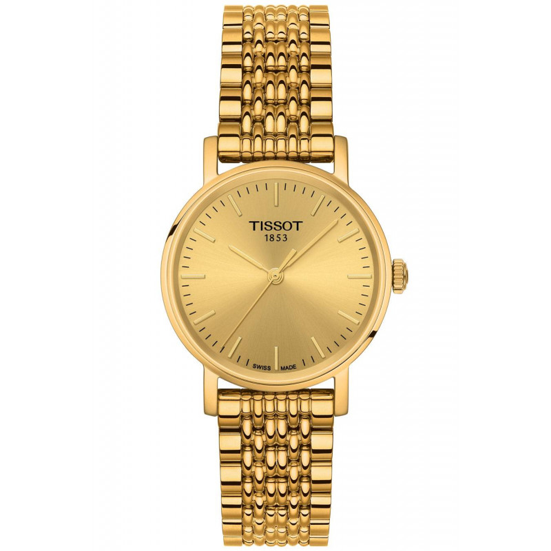 Tissot - Everytime Gold PVD Lady's Watch