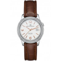Sjöö Sandström - Royal Steel Classic, Ivory & Alligator strap, 008928