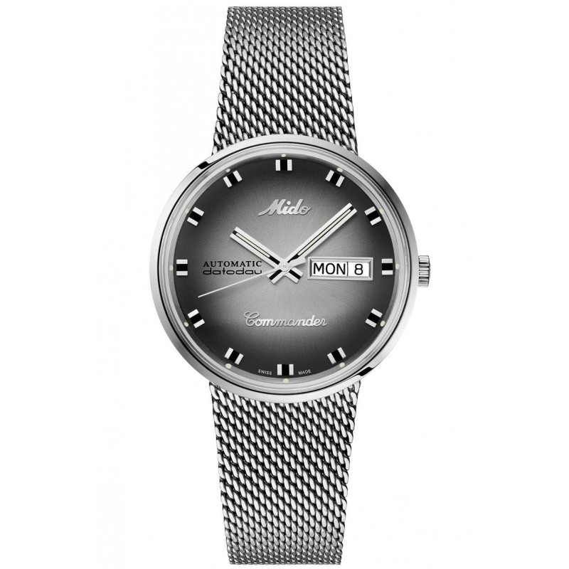Mido Commander - Shade Special Edition Steel Gent's Watch