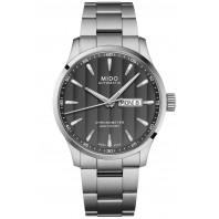 MIDO Multifort - Automatisk Svart Stål Herrklocka COSC