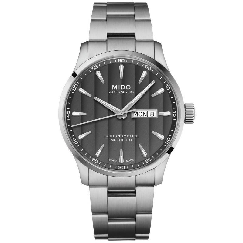 MIDO Multifort - Automatic Black DayDate Steel  Gent's