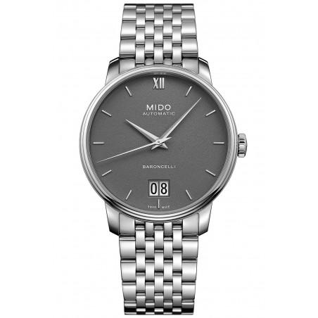 MIDO Baroncelli III- Automatic Grey Steel Gent's Watch