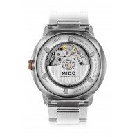 Mido Commander - Big Date Silver &  Rose Guld PVD
