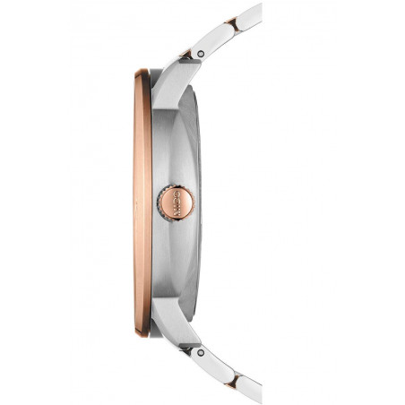 Mido Commander - Big Date Silver & Rose Gold PVD Gent's Watch