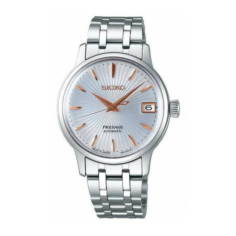 Seiko - Presage Cocktail Automatic Silver & Steel 34mm
