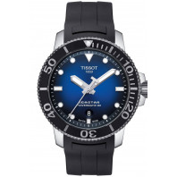 Tissot Seastar 1000 Powermatic 80 Blue Rubber Strap Gent's Watch