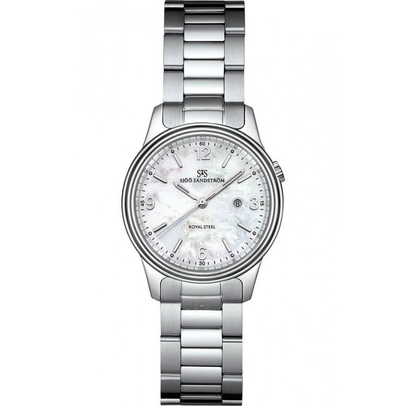 Sjöö Sandström- Royal Steel Classic- Lady's Watch MOP & Steel 32mm