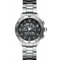 Sjöö Sandström - UTC SKYDIVER Quartz Gent's Watch Black & Steel 017388