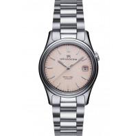 Sjöö Sandström Royal Steel Classic Lady's, pink& bracelet 36mm, 020203