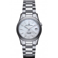 Sjöö Sandström - Royal Steel Classic Mother-of-Pearl & Steel 36mm