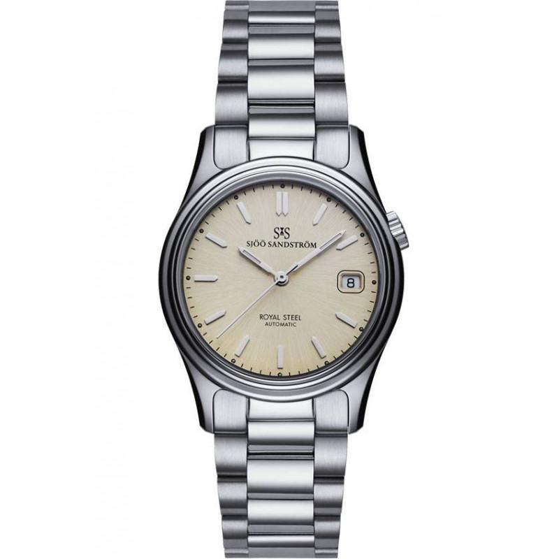 Sjöö Sandström - Royal Steel Classic Champagne dial & bracelet, 36 mm