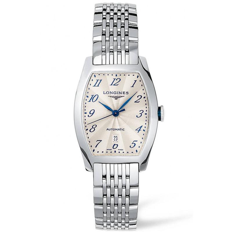 Longines - Evidenza Silver Flinque Steel Lady's Watch