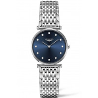 Longines La Grande Classique Diamonds Blue Steel women's watch 2018 New