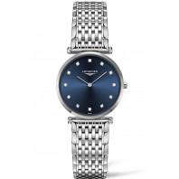 Longines La Grande Classique Diamonds Blue Steel women's watch 2018 New