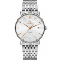 Rado Coupole Classic men's watch guilloche dial & bracelet R22860024