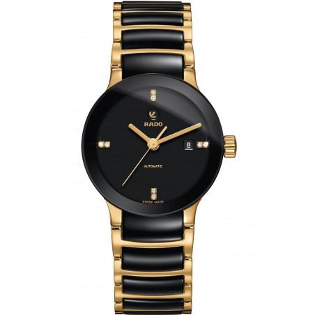 Rado - Centrix Automatic Black Ceramic Lady's Watch