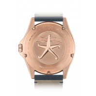 MIDO Ocean Star- Blue & Rose Gold PVD Rubber Gent's Watch