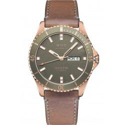 MIDO Ocean Star- Green & Rose Gold PVD Leather Gent's Watch